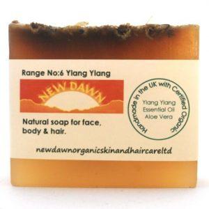 YLANG YLANG SOAP BAR - New Dawn Organic Handmade Vegan Skin & Hair Care Products