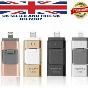 iFlash Drive 32GB USB Memory Stick Device OTG Disk Storage For iPhone Samsung PC