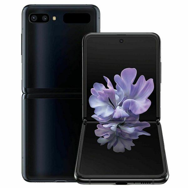 Samsung Galaxy Z Flip 256GB Mirror Black Unlocked **FREE Accessories & Shipping*